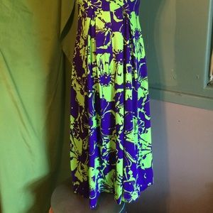 Dresses - Vintage 70s psychedelic dress